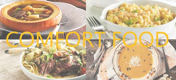 Les indispensables du comfort food