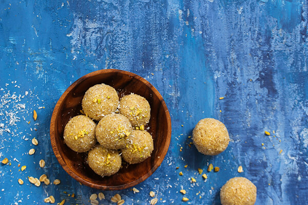 Ladoo, recette indienne facile traditionnelle